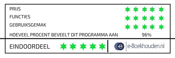 boekhoudprogramma e-boekhouden.nl review