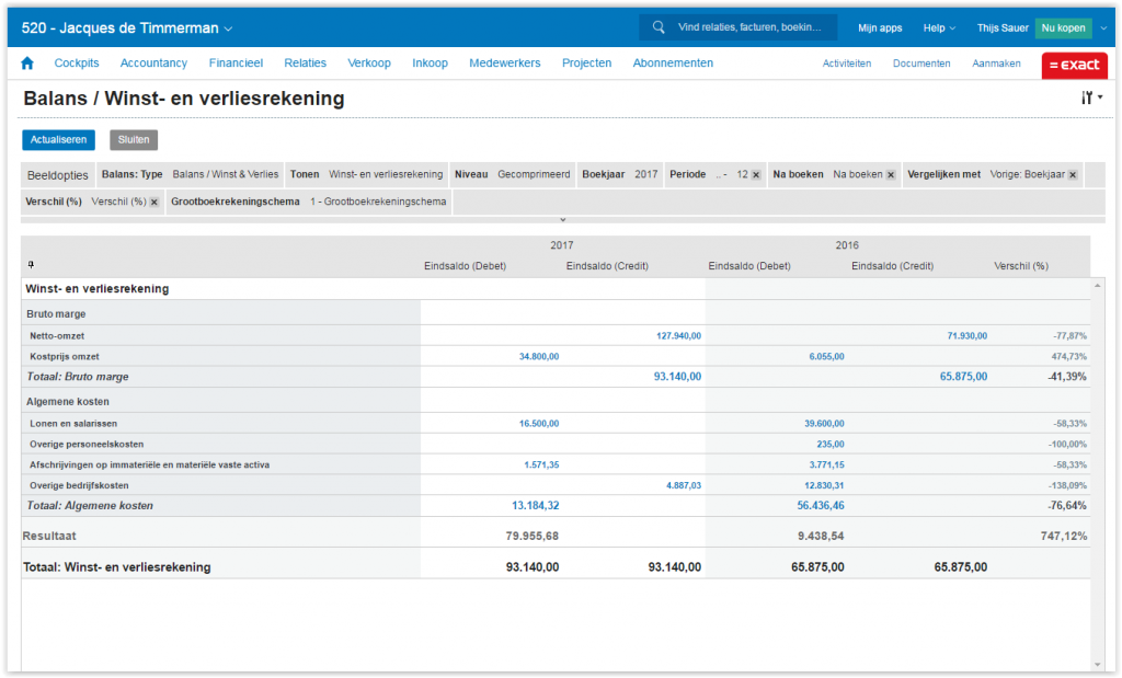 exact online boekhouden reviews van de boekhoudsoftware