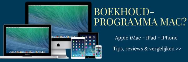 boekhoudprogramma mac