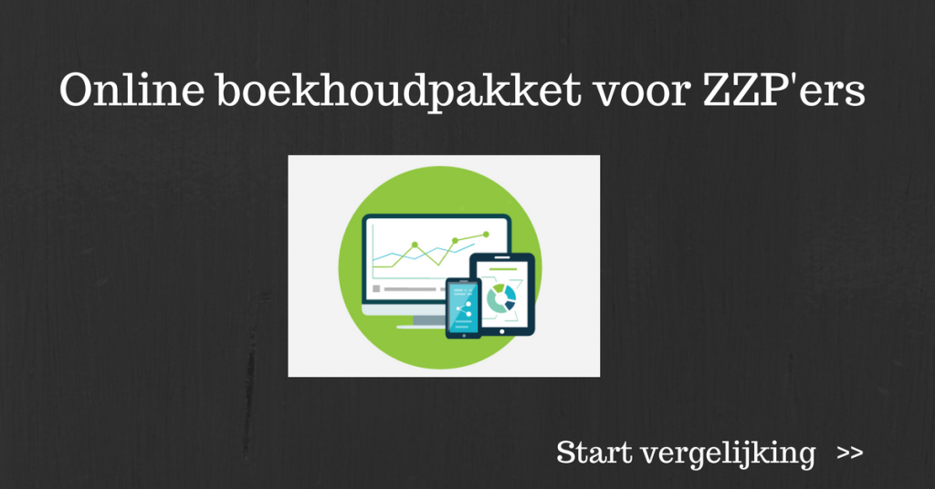 online boekhoudpakket voor ZZP'ers vergelijken