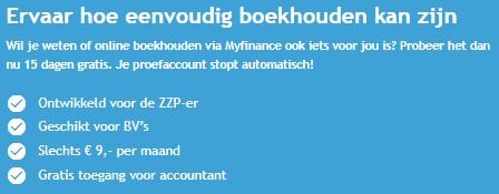 Myfinance boekhouden usp's