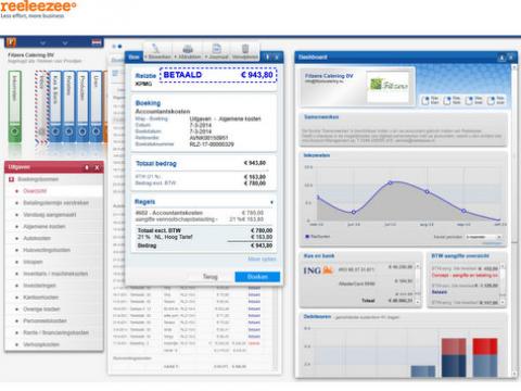 boekhoudprogramma Reeleezee overzicht dashboard